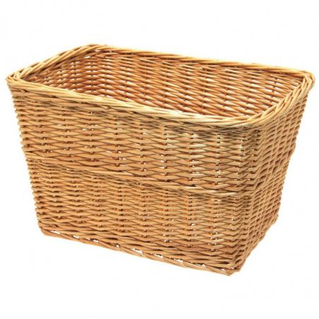 Natural wicker basket bike Geneva bike shop