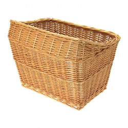 Copenhagen wicker basket bike natural online shop