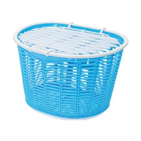 Basket bike front Capri plastic light blue shop online