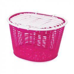 Cesto bicicletta anteriore Capri in plastica rosa online shop
