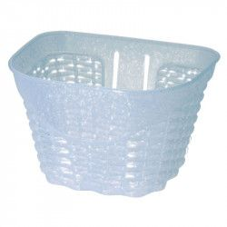 Happy baby white plastic basket