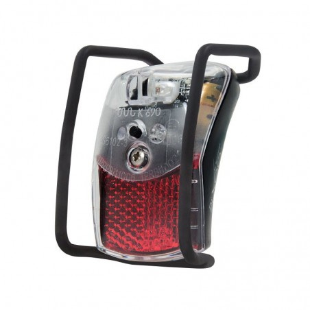 Pixo rearlight bicycle fender 1 led black shop online
