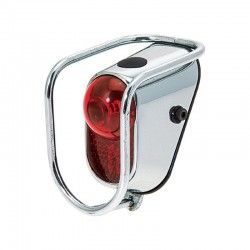 Rearlight bike Retro chrome steel 1 Led online shop