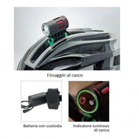 Fanale mtb bici BRN X-Power 1200 Lumen vendita online
