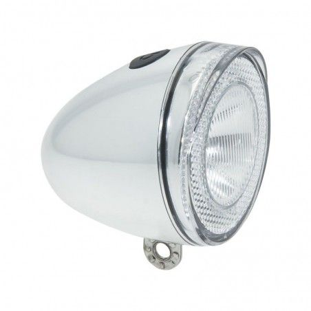 Reflector bike chrome Swingo 1 Led ultra white online shop