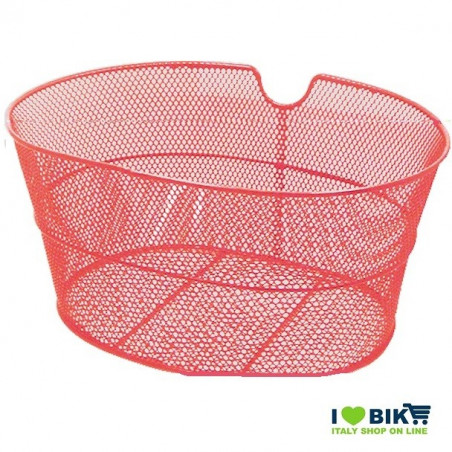 Basket in front of the retina without hooks red