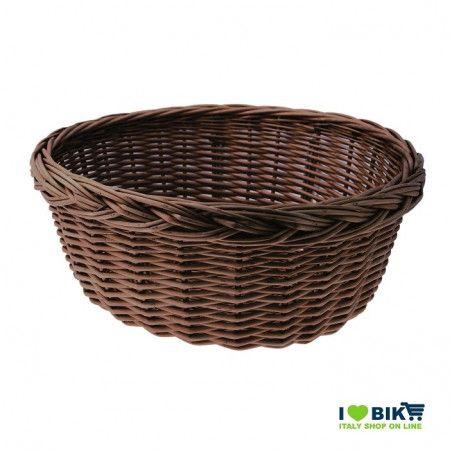 Wicker Basket in Holland brown