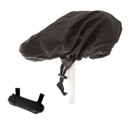 Rain cover saddle universal in re-sealable bag