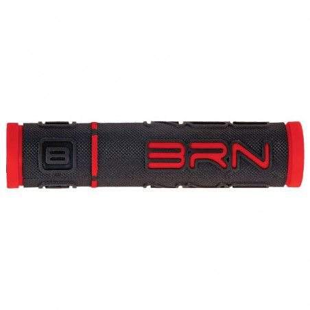 Coppia manopole bicicletta BRN B-One Rosse vendita online