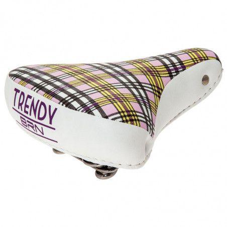 Sella bici BRN Trendy Scozzese lilla online shop