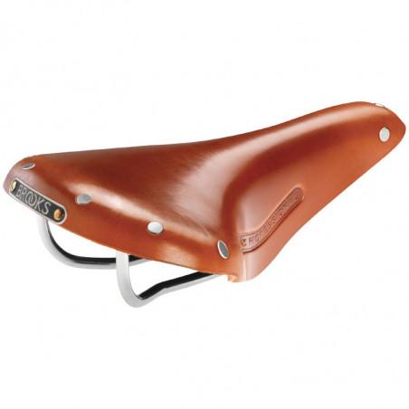 Saddle race / vintage Brooks Team Pro Classic honey online shop