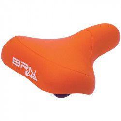 City bike saddle BRN BUBBLE orange sale online