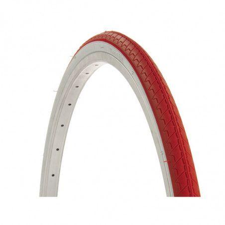 Copertone bicicletta 700 X 28 Bianco/rosso vendita online