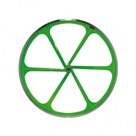 Rear wheel bike fixed fluorescent green sale online