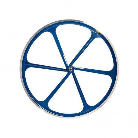 6-spoke rear wheel bike fixed blue online shop