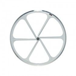 Rear wheel bike fixed 6-spoke white online shop