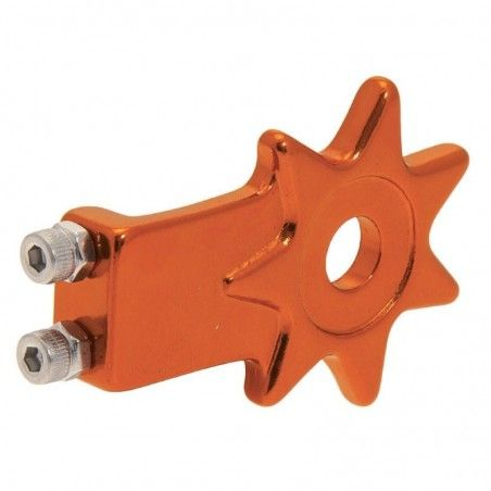 Coppia tendicatena per bicicletta single speed Star in alluminio anodizzato arancio vendita online