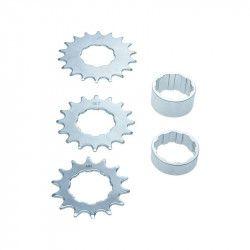 Conversion kit from freewheel cassette single speed