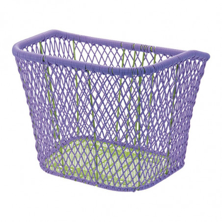 Trendy basket violet