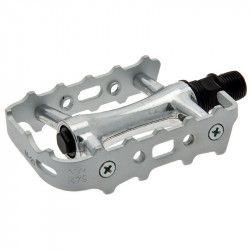 Couple of Pedals Mtb all forged aluminum bearing silver