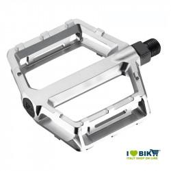 Pedali bici Freeride in alluminio Pro silver con perno grosso online