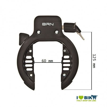 BRN Trekking Padlock with 2 screws