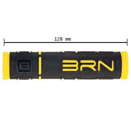 Coppia manopole bicicletta BRN B-One gialle vendita online