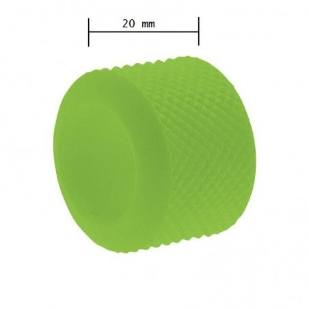 Ring knob fixed BRN-green rubber sale online