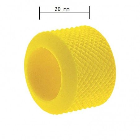 Ring knob fixed BRN-yellow rubber sale online