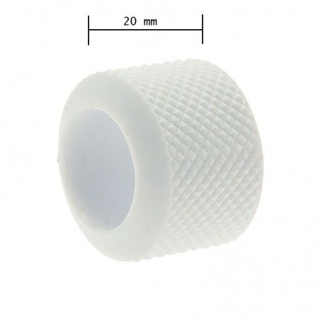 Ring knob fixed BRN-white rubber sale online