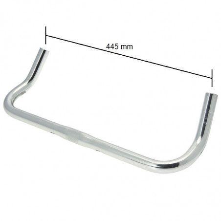 Handlebar Fixed aluminum silver