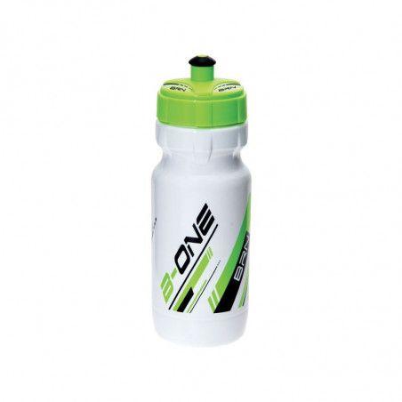 BRN B-ONE 600ml water bottle. - White / fluorescent green bike shop