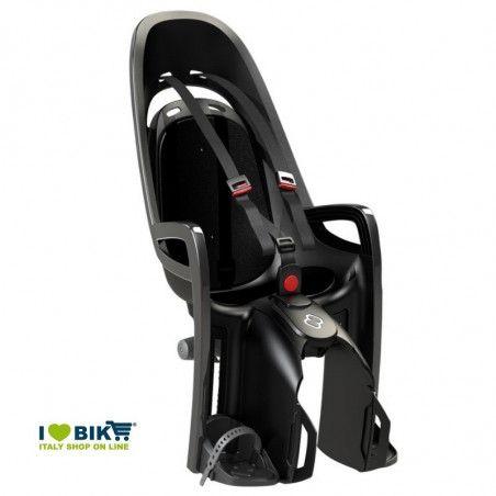 Seggiolino adatto per bici elettriche HAMAX grigio/nero online store