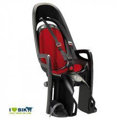 Seggiolino adatto per bici elettriche HAMAX grigio/rosso online store