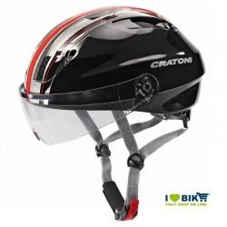 Helmet Cratoni City Evolution Light black / red size M/L online store