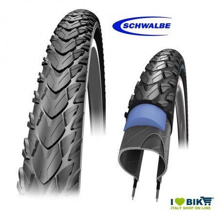 Copertone bicicletta antiforo Schwalbe Marathon Plus Tour 700x35 online shop