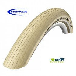 "Cover Mtb / Cruiser Schwalbe FAT FRANK 26"" cream"