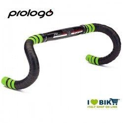 Bike race bar tape Prologue OneTouch 2 in gel Black / Green Fluo online shop