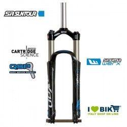 "Fork MTB SR Suntour AXON Werx RC RL-RC 15QLC-Ti 27.5"" 1.5-1 1.8 bike store"
