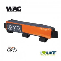 Over the rod frame bag Wag Bikepacking orange pro