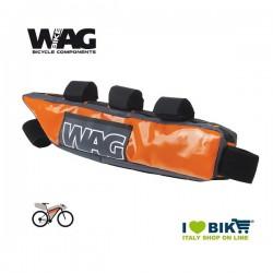 Under the rod frame bag Wag Bikepacking orange pro