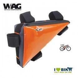 Triangle bag Wag Bikepacking orange pro