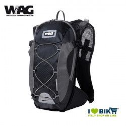 Zaino cicloturismo Wag COLORS nero/grigio bike shop