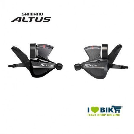 52 532 3300 Comandi cambio Altus SL-M370-L 3X9V-confezione Shimano sing