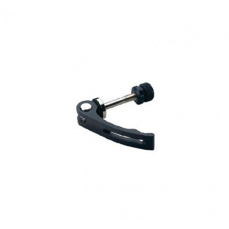 Saddle locking aluminum 6 mm black