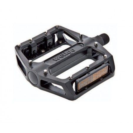 Couple of Aluminum Pedals BMX Pro black with big pin 9/16?