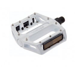 Couple of Pro Pedals BMX aluminum white with big pin 9/16?