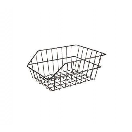 Rear Basket in black iron