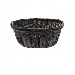 Wicker Basket in Holland Black