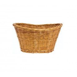 Wicker Basket in Natural Retro
